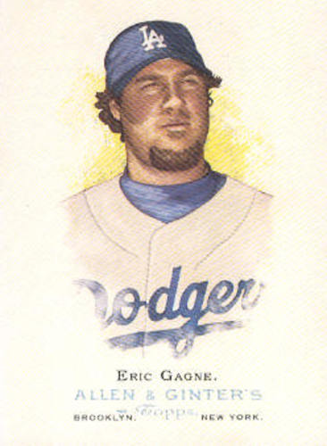 Photo of 2006 Topps Allen and Ginter #123 Eric Gagne