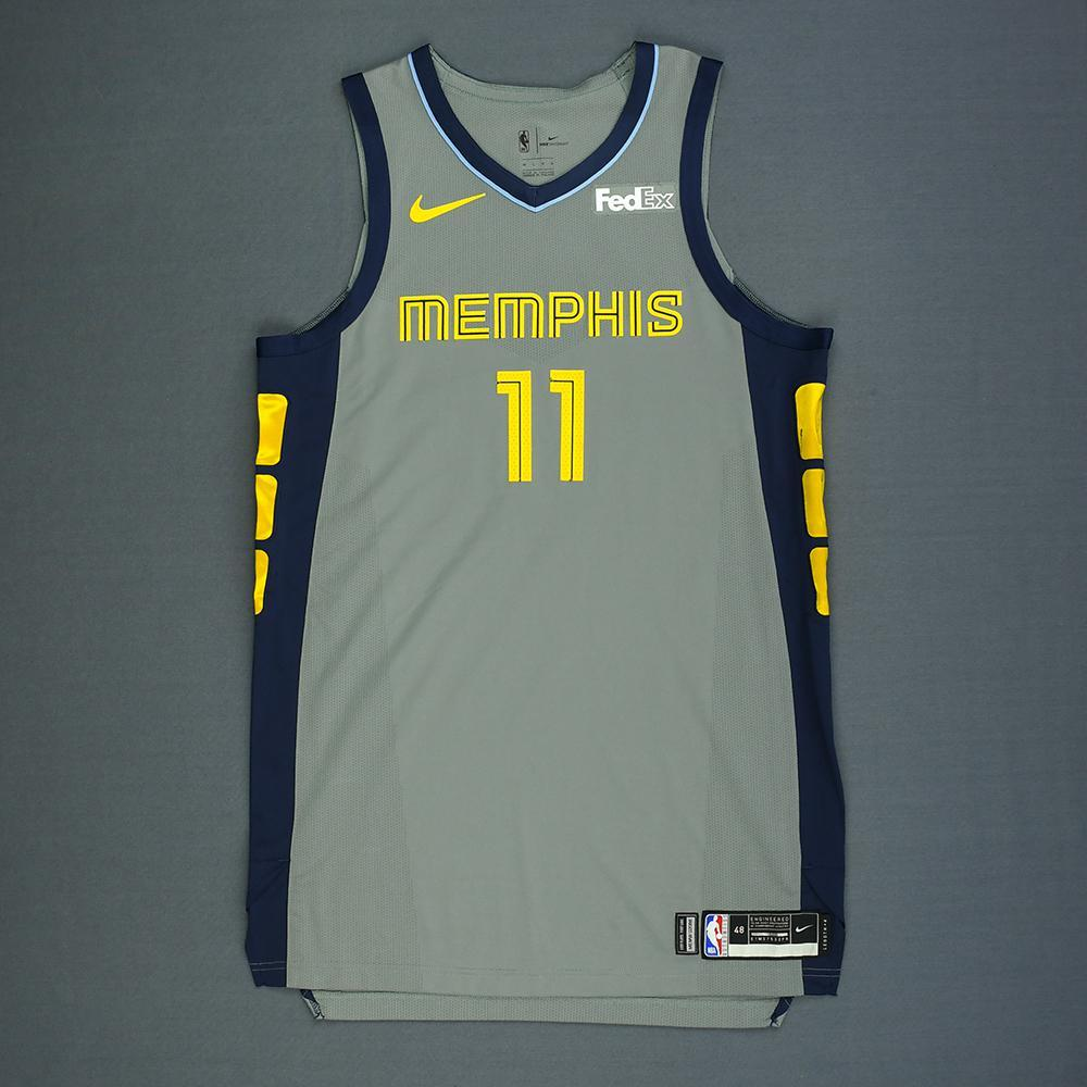 Mike Conley - Memphis Grizzlies - Game-Worn City Edition Jersey - Scored 32 Points - 2018-19 Season