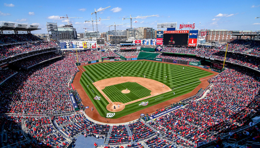WASHINGTON NATIONALS GAME 7/25 VS. COLORADO (2 DELTA SKY360° CLUB TICKETS) - PACKA...