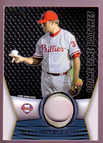 Photo of 2009 Topps Unique Primetime Patches #PTP105 Kevin Millwood/99