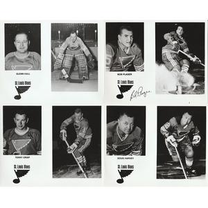 St Louis Blues 1970's Team Promotional Photos