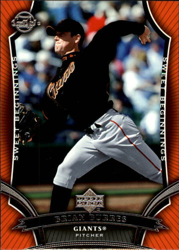 Photo of 2005 Sweet Spot #97 Brian Burres SB RC