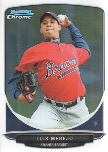 Photo of 2013 Bowman Chrome Prospects #BCP151 Luis Merejo