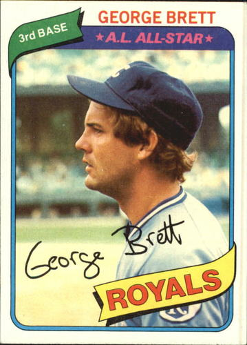 Photo of 1980 Topps #450 George Brett