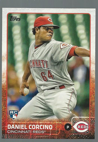 Photo of 2015 Topps #209 Daniel Corcino RC