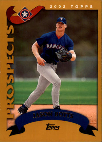Photo of 2002 Topps #682 Jason Botts PROS RC