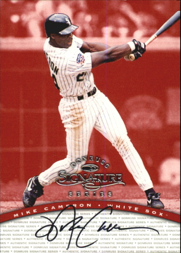 Photo of 1997 Donruss Signature Autographs #15 Mike Cameron/3900