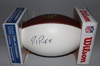 NFL - GIANTS PAUL PERKINS SIGNED PANEL BALL