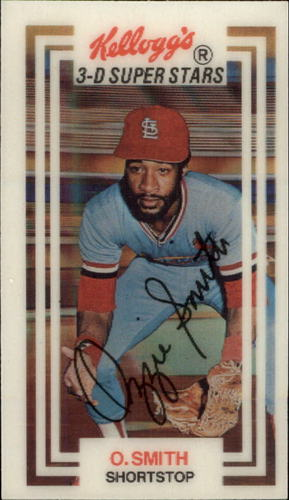 Photo of 1983 Kellogg's #21 Ozzie Smith