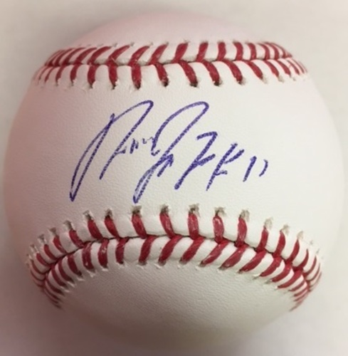 Photo of Jose Ramirez Autographed Baseball