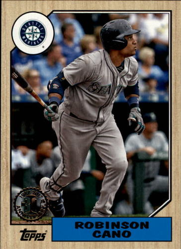 Photo of 2017 Topps '87 Topps #8726 Robinson Cano