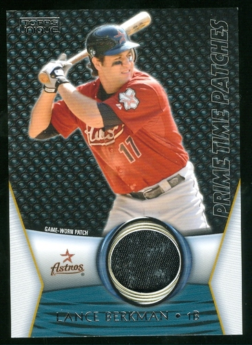 Photo of 2009 Topps Unique Primetime Patches #PTP117 Lance Berkman/99