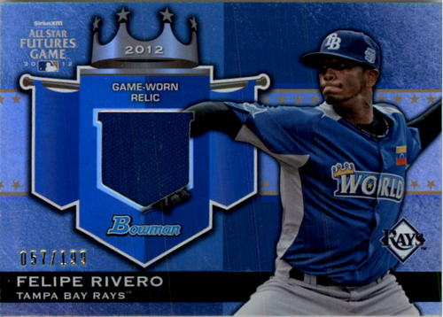 Photo of 2012 Bowman Draft Future's Game Relics #FR Felipe Rivero