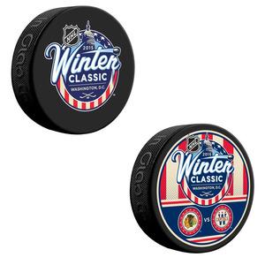 2015 NHL Winter Classic Puck Lot (Washington Capitals, Chicago Blackhawks)