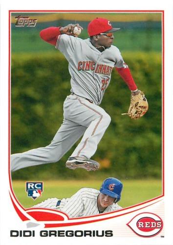 Photo of 2013 Topps #296 Didi Gregorius Rookie Card -- Yankees post-season