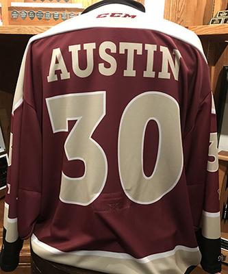 Tye Austin (#30) - Game-Worn Petes Alumni Homecoming Jersey
