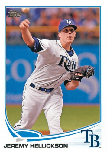 Photo of 2013 Topps #58 Jeremy Hellickson