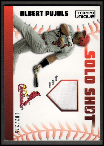 Photo of 2009 Topps Unique Solo Shot Relics #AP Albert Pujols