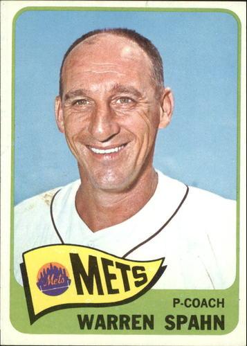 Photo of 1965 Topps #205 Warren Spahn