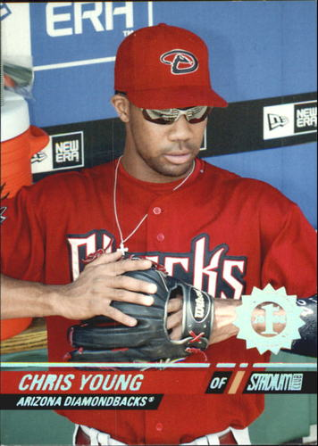 Photo of 2008 Stadium Club First Day Issue #47 Chris Young