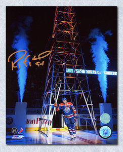 Ryan Smyth Edmonton Oilers Autographed Return to Oil Country 8x10 Photo