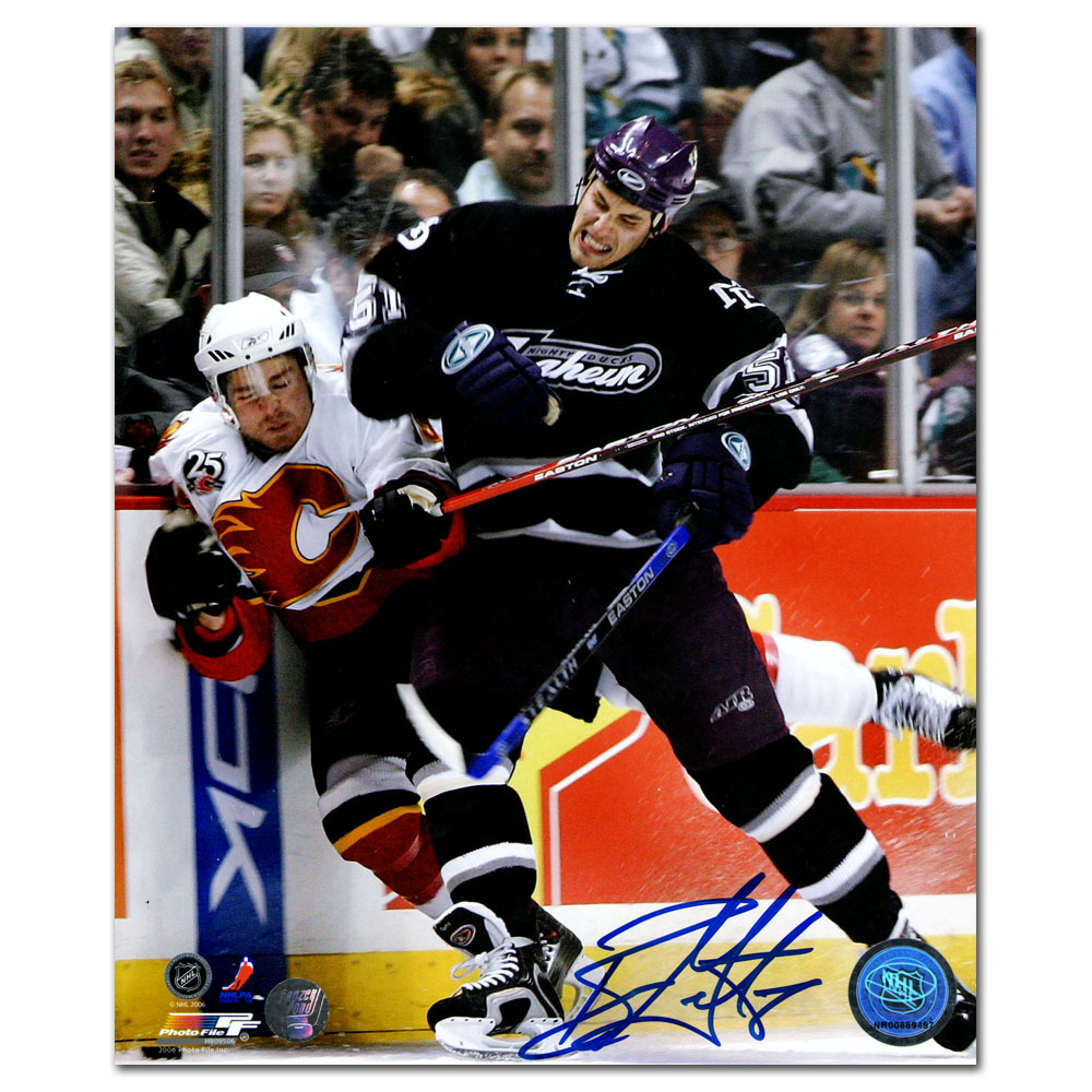 Ryan Getzlaf Autographed Anaheim Ducks 8X10 Photo