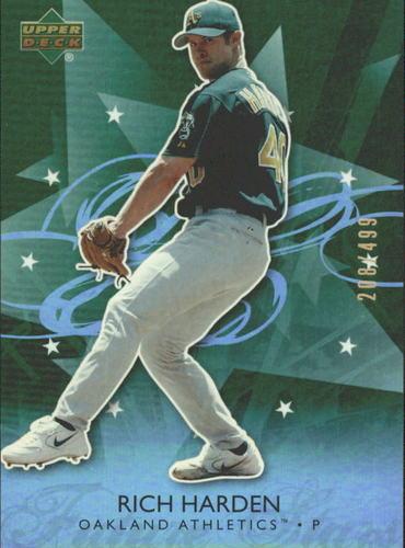 Photo of 2006 Upper Deck Future Stars Green #49 Rich Harden /499