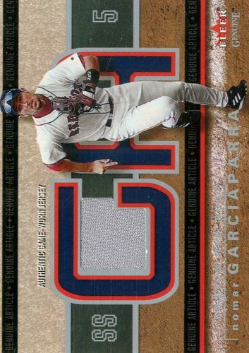 Photo of 2003 Fleer Genuine Article Insider Game Jersey #NG Nomar Garciaparra