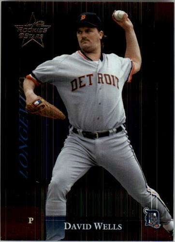 Photo of 2002 Leaf Rookies and Stars Longevity #67B David Wells Tigers SP