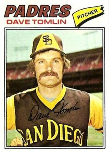 Photo of 1977 Topps #241 Dave Tomlin