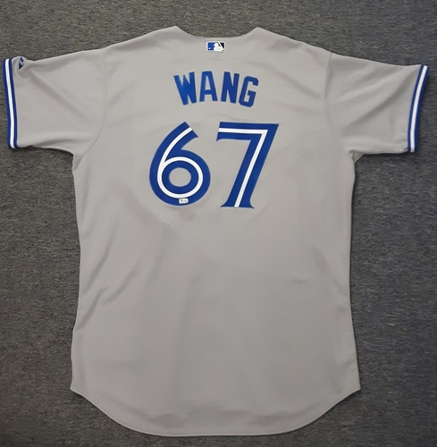 Photo of Authenticated Team Issued Jersey - #67 Chien-Ming Wang (2013 Season)