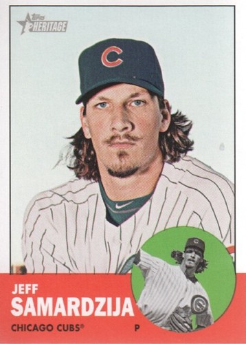 Photo of 2012 Topps Heritage #31 Jeff Samardzija