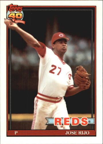 Photo of 1991 Topps Tiffany #493 Jose Rijo