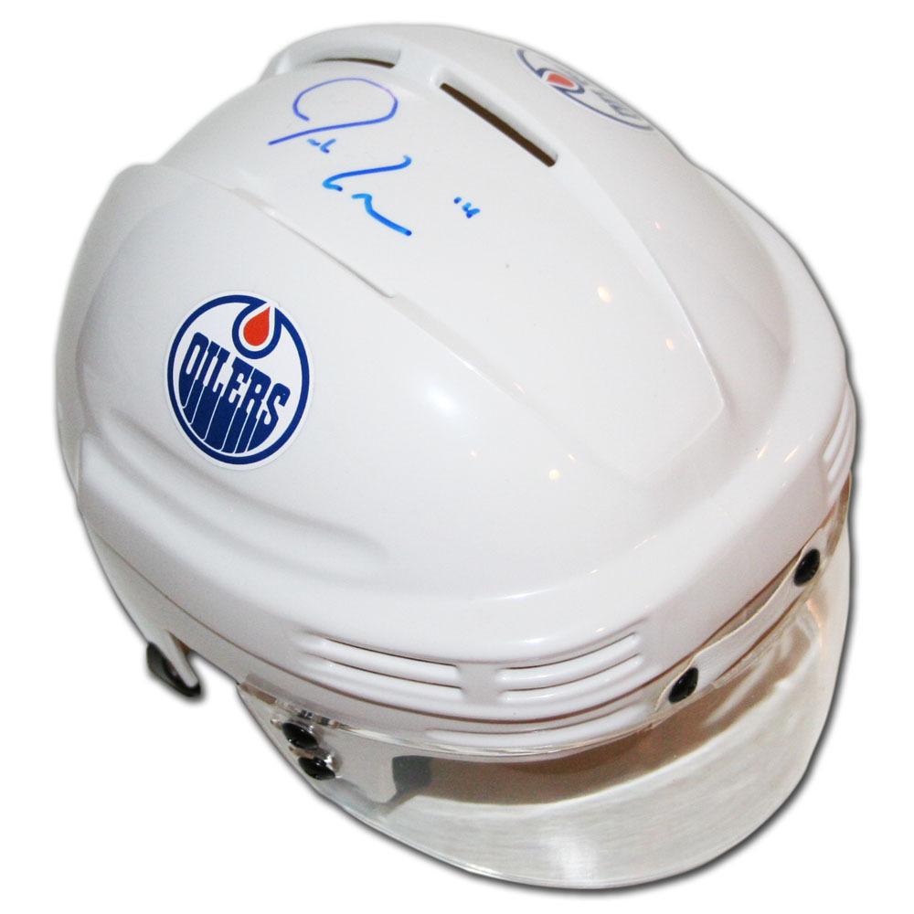 Jordan Eberle Autographed Edmonton Oilers Mini-Helmet