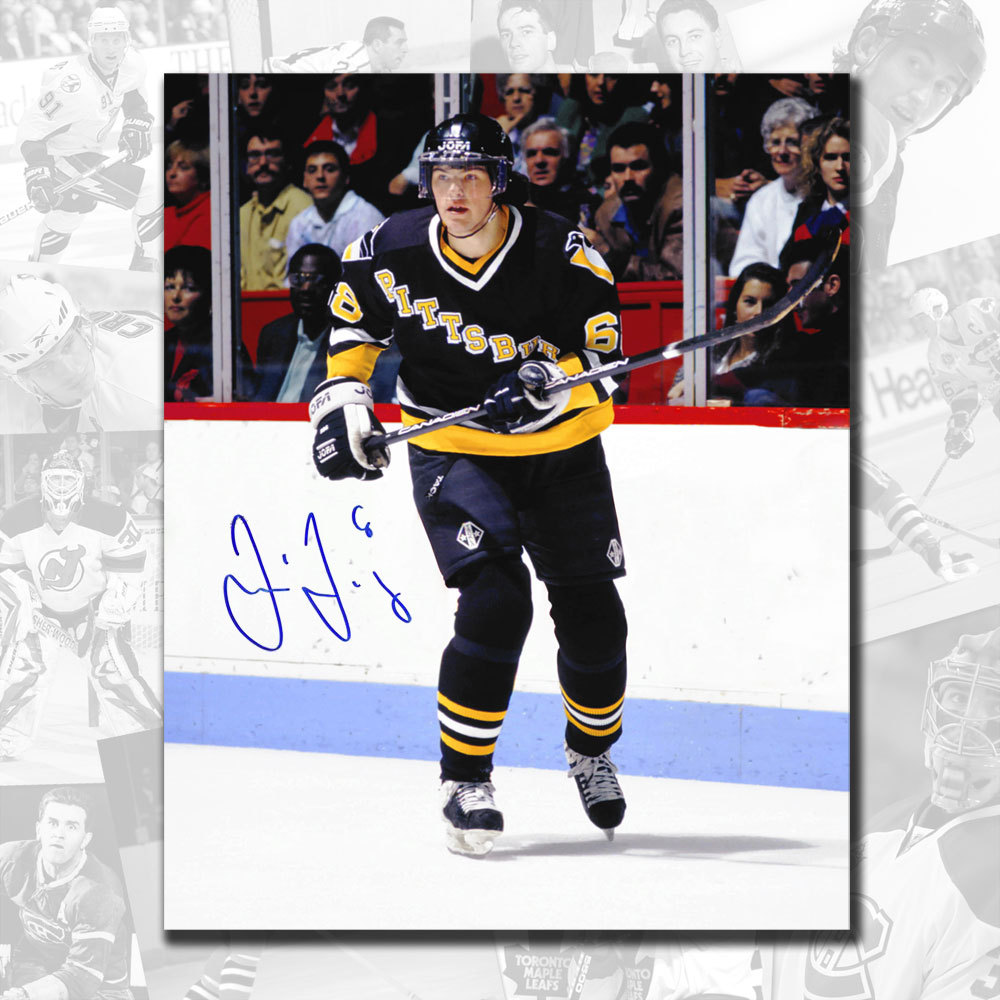 Jaromir Jagr Pittsburgh Penguins Autographed 8x10