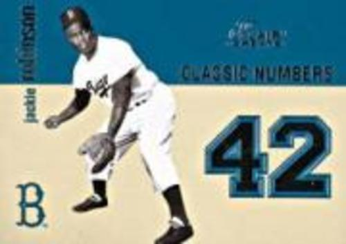 Photo of 2003 Flair Greats Classic Numbers #1 Jackie Robinson
