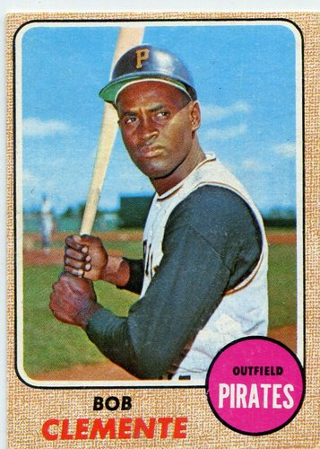 Photo of 1968 Topps #150 Roberto Clemente -- Pirates Hall of Famer