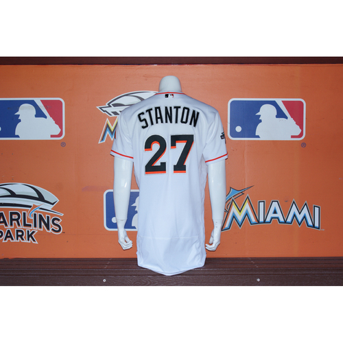 Photo of Giancarlo Stanton Home Opener Jersey