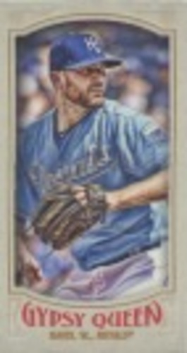 Photo of 2016 Topps Gypsy Queen Mini #136 Wade Davis