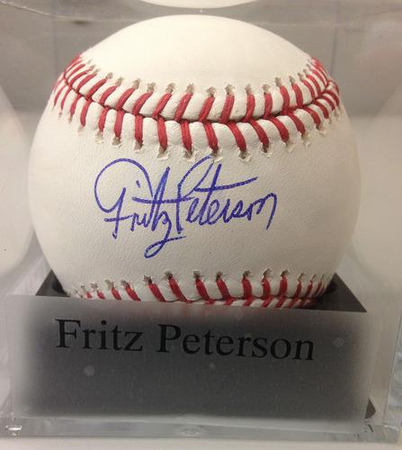 Photo of Baseball Assistance Team: Fritz Peterson Autographed Baseball