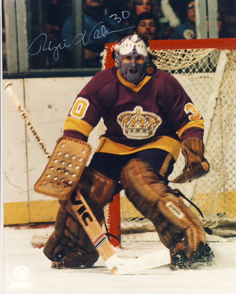 ROGIE VACHON Los Angeles Kings Autographed 8x10 Photo