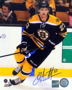 Dougie Hamilton - Signed 8x10 Bruins Black Action Photo