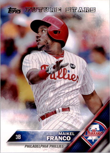 Photo of 2016 Topps #207 Maikel Franco FS
