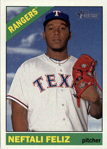 Photo of 2015 Topps Heritage #174 Neftali Feliz