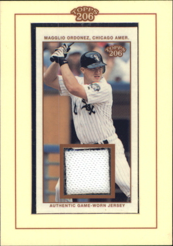 Photo of 2002 Topps 206 Relics #MO Magglio Ordonez Jsy A1