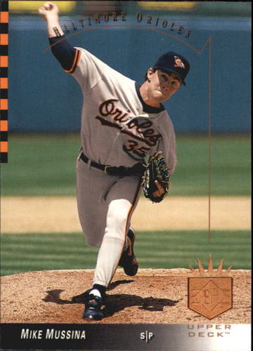 Photo of 1993 SP #160 Mike Mussina