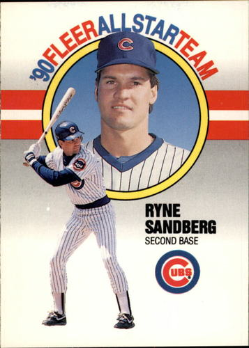 Photo of 1990 Fleer All-Stars #9 Ryne Sandberg