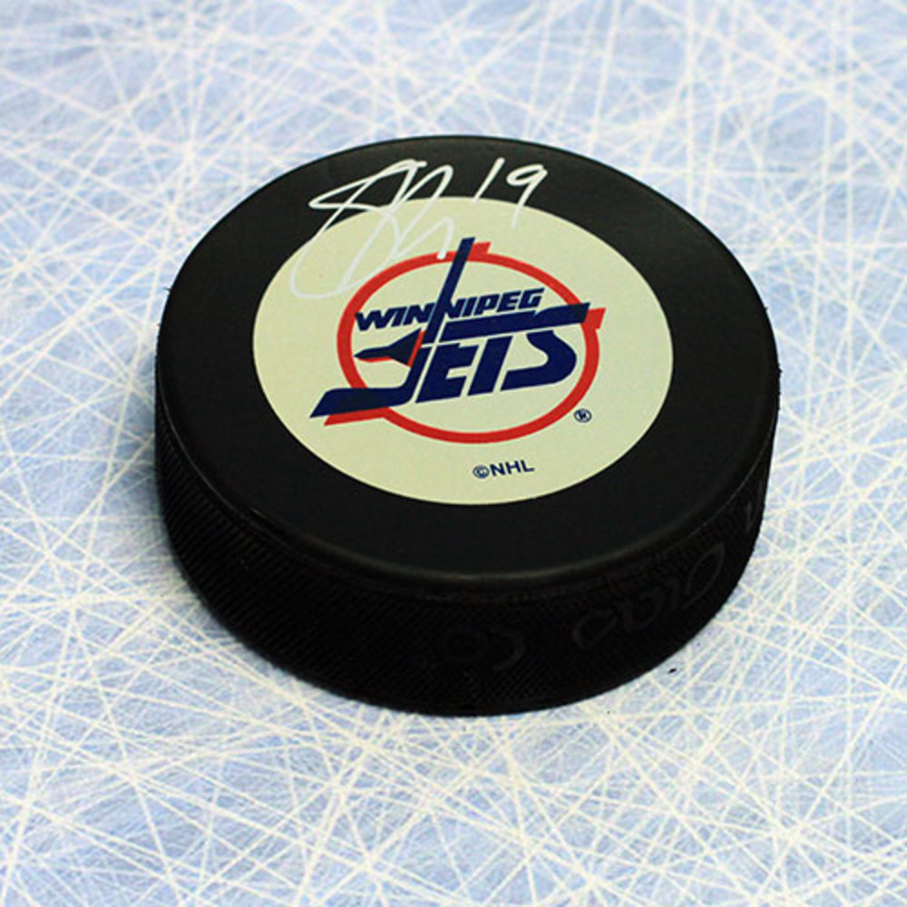Shane Doan Winnipeg Jets Autographed NHL Debut Rookie Hockey Puck
