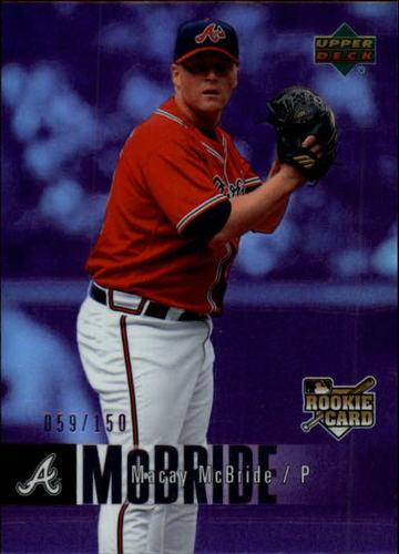 Photo of 2006 Upper Deck Special F/X Purple #901 Macay McBride /150