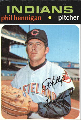 Photo of 1971 Topps #211 Phil Hennigan RC